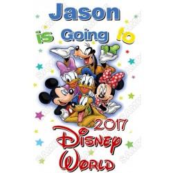 Disney Disneyland Vacation Cruise Personalized Custom T Shirt Iron on Transfer Decal #111