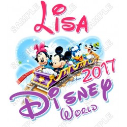 Disney Disneyland Vacation Cruise Personalized Custom T Shirt Iron on Transfer Decal #3