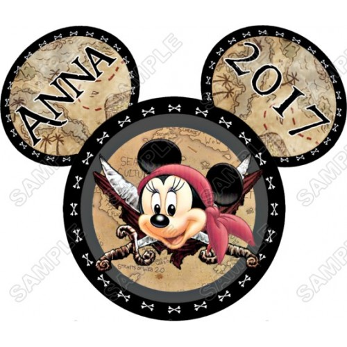 Disney World Disneyland Vacation Minnie Mouse Custom Personalized T Shirt Iron on Transfer Decal #39 by www.shopironons.com
