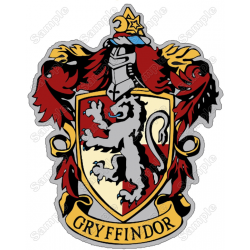 Harry Potter Gryffindor T Shirt Iron on Transfer Decal