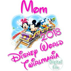 Disney Vacation Custom Personalized Digital Iron on Transfer (DIGITAL FILE ONLY!) #3
