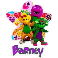 Barney T Shirt Iron on Transfer Decal #7