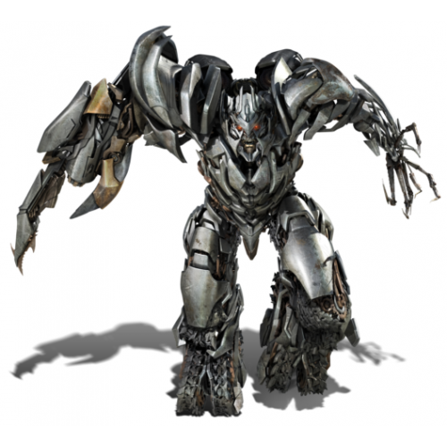 Megatron Transformers T Shirt Iron on Transfer Decal #14 by www.shopironons.com
