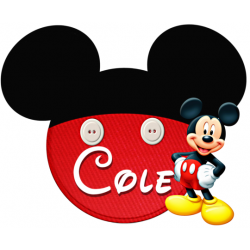 Disney World Vacation Mickey Mouse Custom Personalized T Shirt Iron on Transfer Decal #500
