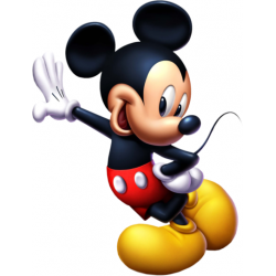 Mickey Mouse T Shirt Iron on Transfer Decal #24