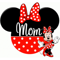 Disney World Vacation Minnie Mouse Custom Personalized T Shirt Iron on Transfer Decal #55