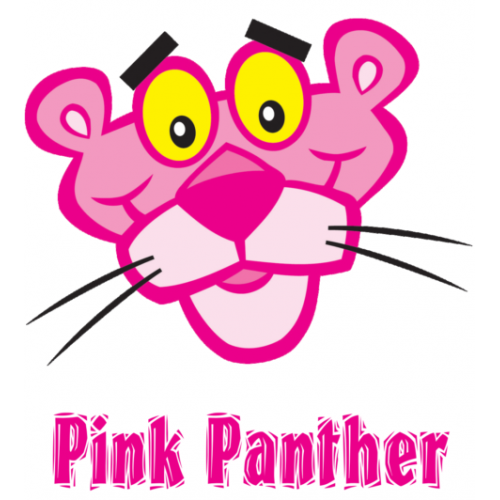 Pink Panther T Shirt Iron on Transfer Decal #5 by www.shopironons.com
