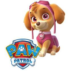 PAW Patrol Skye T Shirt Iron on Transfer Decal #85
