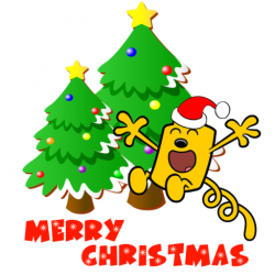 Christmas Wow Wubbzy T Shirt Iron on Transfer Decal #49