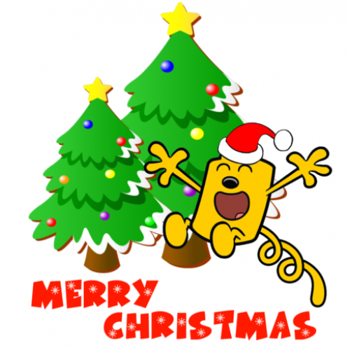 Christmas Wow Wubbzy T Shirt Iron on Transfer Decal #49 by www.shopironons.com