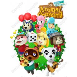 Animal Crossing T Shirt Iron on Transfer Decal #1