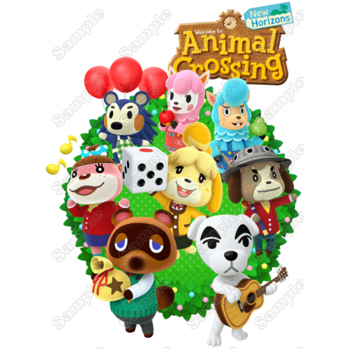 Animal Crossing T Shirt Iron on Transfer Decal #1 by www.shopironons.com