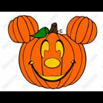 Mickey or Minnie Halloween Pumpkin Heads T Shirt Iron on Transfer Decal by www.shopironons.com