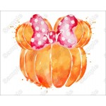 Pumpkin Fall Mickey Mouse T Shirt Iron on Transfer Decal by www.shopironons.com