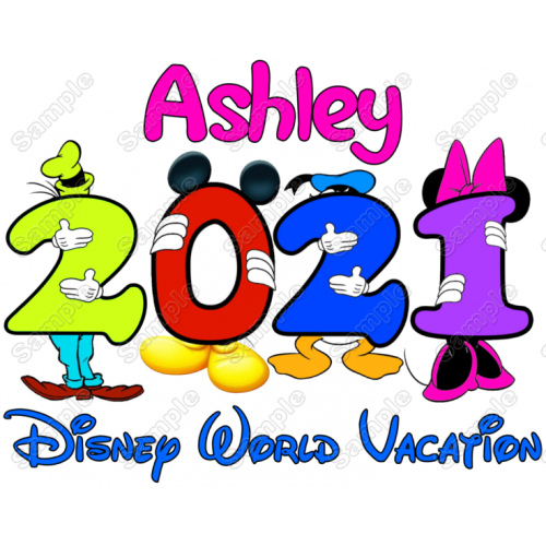 Disney World Vacation Cruise Personalized Custom T Shirt Iron on Transfer Decal #4 by www.shopironons.com
