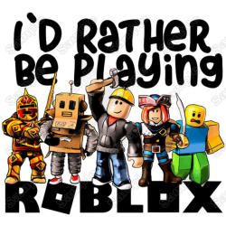 Roblox T Shirt Iron on Transfer Decal #1