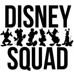 Disney Squad Iron On Heat Transfer Vinyl HTV