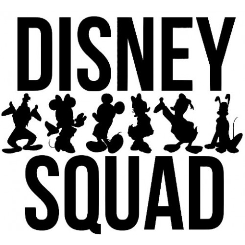 Disney Squad Iron On Heat Transfer Vinyl HTV by www.shopironons.com
