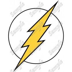 Flash Logo T Shirt Iron on Transfer Decal #11