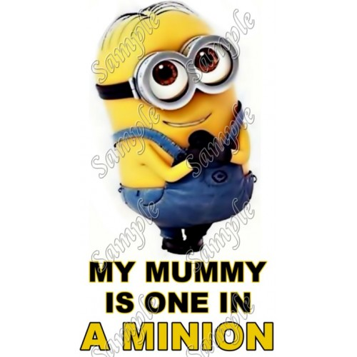 Despicable Me Minion T Shirt Iron on Transfer Decal #48 by www.shopironons.com