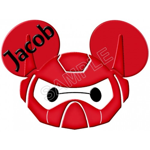 Disney Big Hero Baymax Custom Personalized T Shirt Iron on Transfer Decal #1 by www.shopironons.com