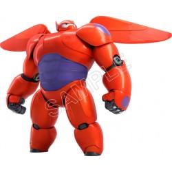 Disney Big Hero Baymax T Shirt Iron on Transfer Decal #5