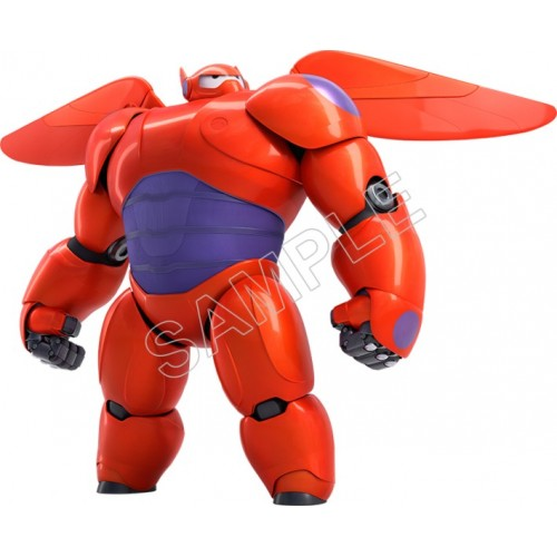 Disney Big Hero Baymax T Shirt Iron on Transfer Decal #5 by www.shopironons.com