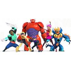 Disney Big Hero Baymax T Shirt Iron on Transfer Decal #6