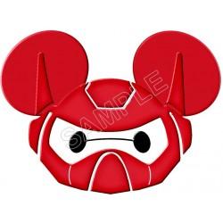 Disney Vacation Big Hero Baymax T Shirt Iron on Transfer Decal #3