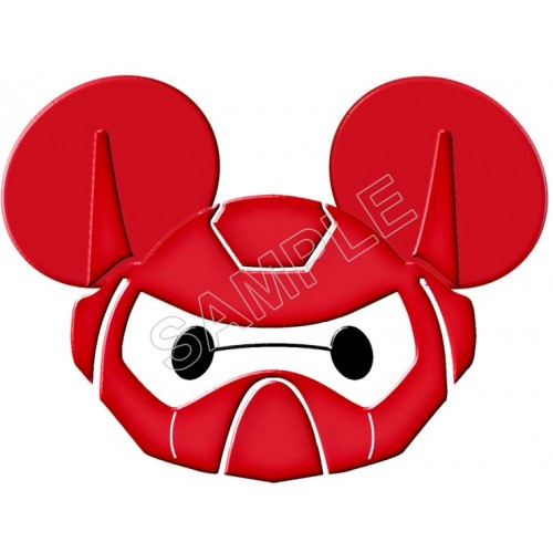 Disney Vacation Big Hero Baymax T Shirt Iron on Transfer Decal #3 by www.shopironons.com