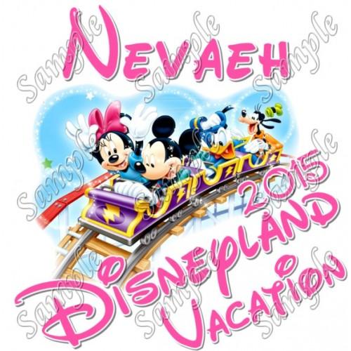 Disneyland Vacation Cruise Personalized Custom T Shirt Iron on Transfer #5 by www.shopironons.com