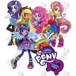 Equestria Girls T Shirt Iron on Transfer Decal #1
