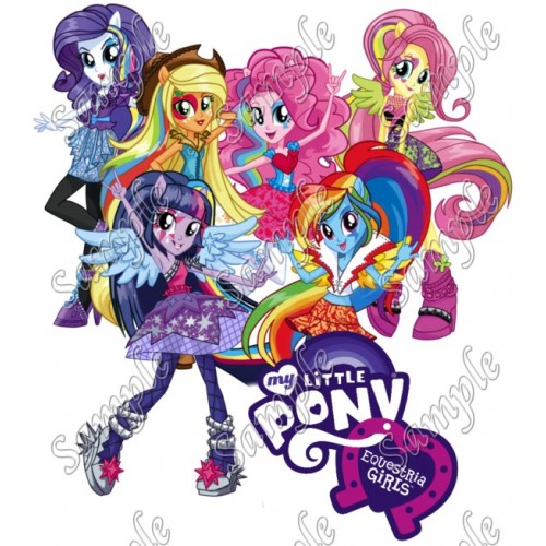 Equestria Girls T Shirt Iron on Transfer Decal #1 by www.shopironons.com