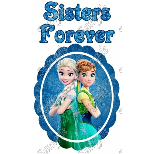 Frozen Fever Birthday Custom Personalized T Shirt Iron on Transfer Decal #3 by www.shopironons.com