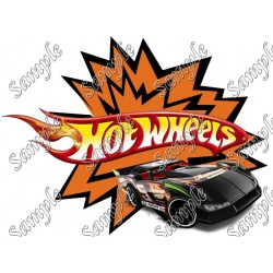 Hot Wheels T Shirt Iron on Transfer Decal #92
