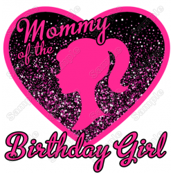 Barbie Birthday Family Member Personalized Custom T Shirt Iron on Transfer Decal