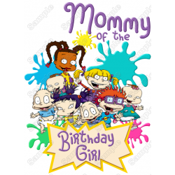 Rugrats Birthday Personalized Custom T Shirt Iron on Transfer Decal #7