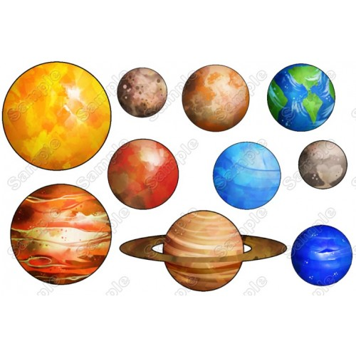 Solar System Planets T Shirt Iron on Transfer Decal #16 by www.shopironons.com