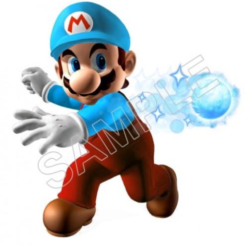 Mario bros wall decal