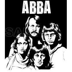 ABBA T Shirt Iron on Transfer Decal #2