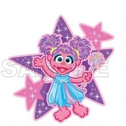 Abby Cadabby T Shirt Iron on Transfer Decal #1