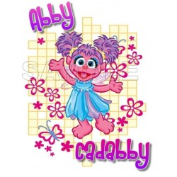 Abby Cadabby T Shirt Iron on Transfer Decal #15