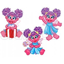 Abby Cadabby T Shirt Iron on Transfer Decal #16