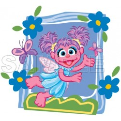 Abby Cadabby T Shirt Iron on Transfer Decal #7