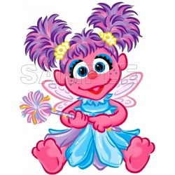 Abby Cadabby T Shirt Iron on Transfer Decal #9