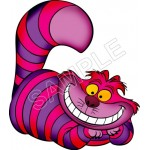 Alice in Wonderland Cheshire Cat T Shirt Iron on Transfer Decal #4 by www.shopironons.com
