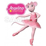 Angelina Ballerina T Shirt Iron on Transfer Decal #1 by www.shopironons.com