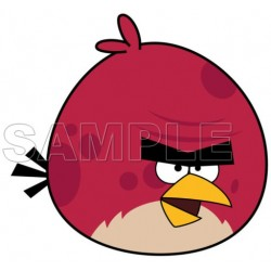 Angry Birds Big Brother Bird T Shirt Iron on Transfer Decal #6