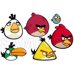 Angry Birds T Shirt Iron on Transfer Decal #2