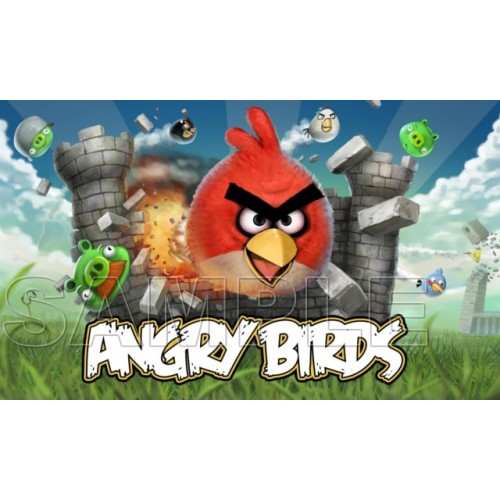 Angry Birds T Shirt Iron on Transfer Decal #4 by www.shopironons.com